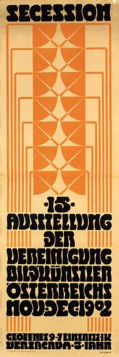Adolf Michael Boehm - Poster for the 15th Exhibition of the Vienna Secession