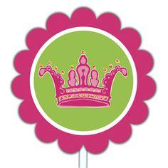 Tiara Cupcake Topper Printable Free
