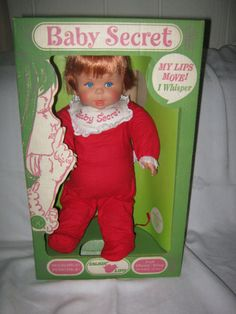 1965 BABY SECRET Doll - Original Box - Whispers Several Phrases-Excellent Cond. | eBay