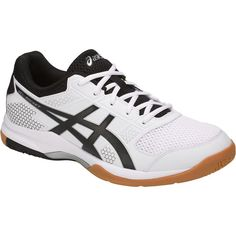 Order Asics Gel Rocket 8 Indoor Court Shoes (White/Black) With COD at SportsJam. Yonex Badminton Shoes, Platform Tennis Shoes, Tennis Funny, Cheap Womens Shoes, Asics Men, Volleyball Shoes, Wide Shoes, Buy Shoes Online, Court Shoes