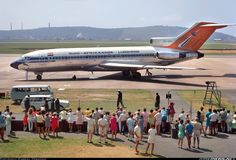 Airport closed 2010 when King Shaka International opened. - Photo taken at Durban - International (Louis Botha) (DUR / FADN) in South Africa on November Jets, South African Air Force, Boeing 727, Good Old Times, Engin, Civil Aviation, Nostalgia, Photo Search, Aircraft Pictures