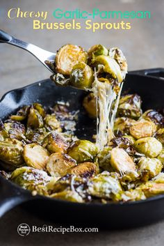 Roasted brussels sprouts should be in their own food group because they're loved by so many folks and they're super delicious. There's so many variations for brussels sprouts recipes and we have a super popular roasted brussels sprouts with bacon and garlic here. But you can never have too many recipes for brussels sprouts and we have …