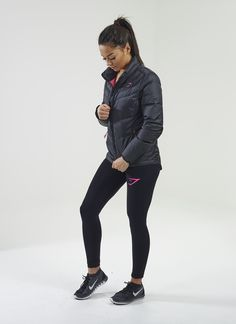 Gymshark Fitted Sector Puffer Jacket Black. Order yours >  https://www.gymshark.com/collections/hoodies-jackets/products/gymshark-fitted-sector-puffer-jacket-black