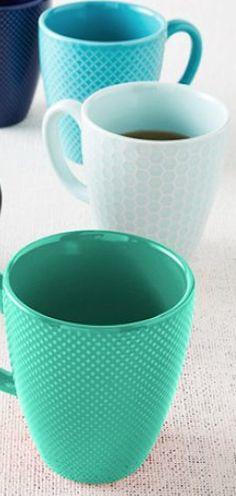 cute textured mugs http://rstyle.me/n/g6rrzr9te