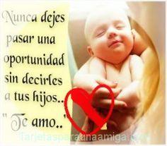mensajes  de amor a los hijos