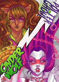 Monster High- Power Ghouls by RavenNoodle.deviantart.com on @deviantART