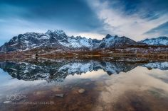 Blue mirror by PSchellig #Landscapes #Landscapephotography #Nature #Travel #photography #pictureoftheday #photooftheday #photooftheweek #trending #trendingnow #picoftheday #picoftheweek