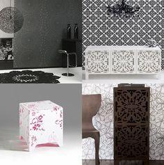 #lace laser cut furniture Cnc Plasma Cutter, Plasma Cutting, Hobby Cnc, Lace Art, Disposable Tableware, Cut Out Design, Islamic Art, Creative Design, Living Room Decor