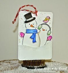 Thanksgiving in Canada was way back in October, but I am sending Thanksgiving wishes to all of my American Friend. 25 Days Of Christmas, Christmas Gift Tags, Christmas Snowman, Thanksgiving In Canada, Thanksgiving Wishes, Cute Snowman, Snowmen, Lawn Fawn Stamps, Christmas Paper Crafts
