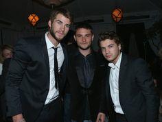 Liam Hemsworth Photos - GREY GOOSE Pre-Oscar Party - Zimbio