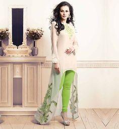 ETERNAL FANCY DESIGNER EMBROIDERED KURTI TO WEAR WITH LEGGINGS #VDKV11 – Stylish Bazaar