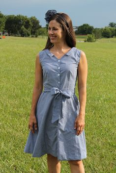 Hawthorn dress pattern inspiration and revision