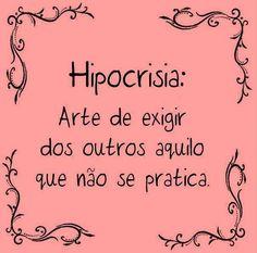 SIGNIFICADO DE HIPOCRISIA
