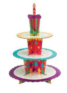 Celebration Cupcake Stand Kit (Holds 24) - $9.99