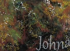 Biopsy by Johna Gibson Bowman. Abstract art