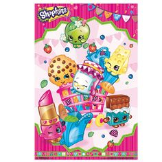 I Love this Shopkins Poster. Great addition to Party Decorations. #ShopkinsParty