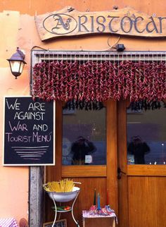 The Trastevere is known for delicious food and some of the best restaurants in Rome.