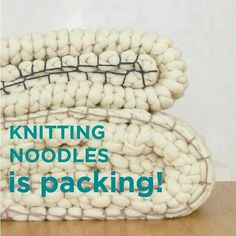 KNITTING NOODLES is packing, we're going on a summer holiday!  Orders received from the 20th of July will be dispatched in September.  Since then we'll be very pleased to help you at info@knittingnoodles.es  Have a Lovely Summer!! #knittingnoodles