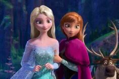 Photo of Elsa and Anna in new hairstyle for fans of Disney Princess 37357616 Frozen Disney, Elsa Frozen, Disney Love, Disney Magic, Disney Art, Frozen 2013, Disney Family, Disney Stuff, Best Disney Movies