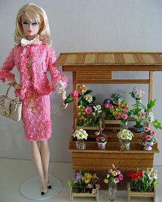 silk and flowers by deborah is lola, via Flickr