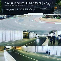 #Casino the famous hairpin turn & tunnel of Monaco F1 Grand Prix circuit.... #monacograndprix #azlinholidaytravel by nora_sadli from #Montecarlo #Monaco