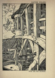 Of the decorative illustration of books old and...