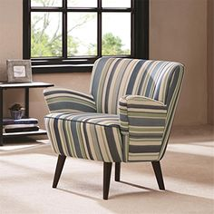 Madison Park Sophie Chair  Blue  2825W x 3175D x 3025H -- You can get additional details at the image link.Note:It is affiliate link to Amazon.