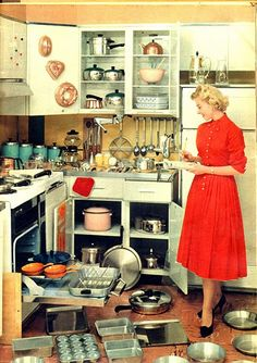 '50's kitchen dissected.