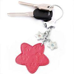 Rhinestone keychain car women's keychain key chain key ring gift