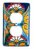talavera switch plates | ... Talavera Light Switch Plate Cover Single Rocker Assorted | Talavera