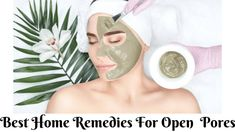 Looking for best natural treatment to get rid of open pores? if yes, so check out home remedies for open pores close at home Big Pores On Face, Face Mask For Pores, Dry Skin On Face, Home Remedies For Face, Scar Remedies, Skin Care Remedies, Natural Remedies, Oily Skin Care, Face Skin Care