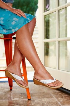 Price: $89.95 - The Orthaheel Ramba is a wedge sandal that has orthotic support for all day foot comfort. This sandal is perfect for anyone who wants allday comfort or relief from plantar fasciitis arch or heel pain. Orthaheel Shoes  Sandals have fast free shipping and also free return shipping at the Orthotic Shop.