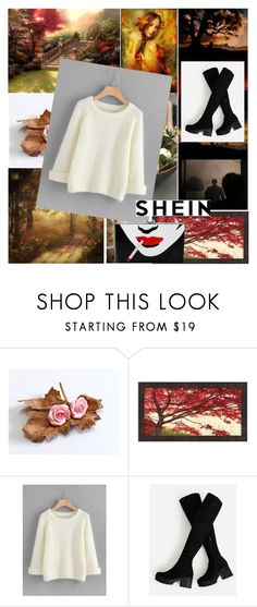 """Shein sweater"" by irinavsl ❤ liked on Polyvore featuring Charlotte Olympia"