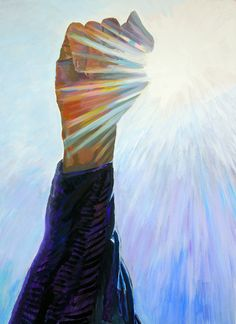허공에쓴다acylic on canvas54×74cm 2015