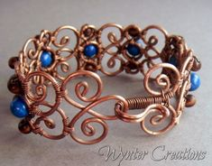 The Cecily Wire Wrapped Bracelet, clasp