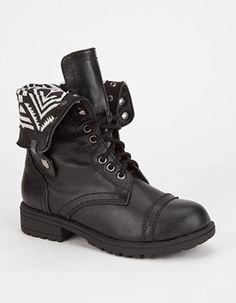 HAPPY SODA Oralee Girls Boots  Size 1