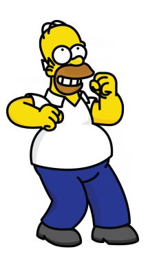 How to Draw Homer- The Simpsons