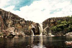 Cachoeira do Crioulo - Rio Preto - Minas Gerais  --Foto: Tom Alves