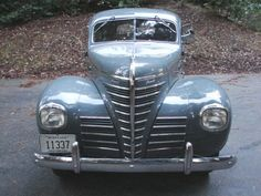 1939 Plymouth vintage car photo