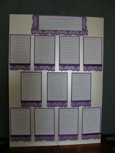 Wedding Seating table Plan