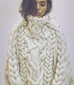 chunky knit - high neck turtleneck                                                                                                                                                      More