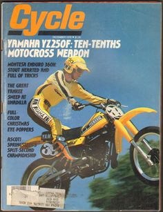 December 1978 Cycle Magazine Yamaha YZ250F Montesa Enduro 360H | eBay
