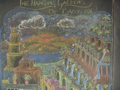 Babylon 5th   Love this of the Hanging Gardens