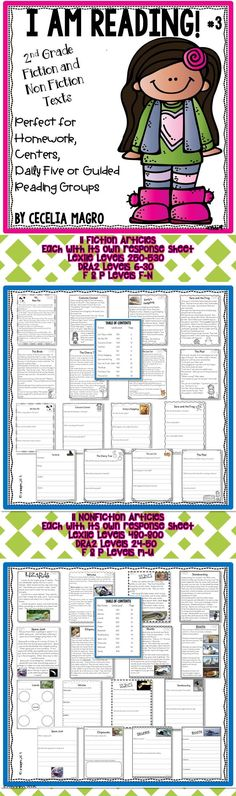 22 original second grade leveled reading passages and close reading activities perfectly aligned to Common Core Literature AND Informational reading standards! This pack could be used in a variety of ways - class-wide reading, homework, assessment, fluency work, reading comprehension practice, guided reading groups, or intervention.