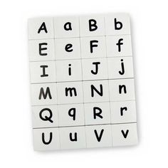 Upper and lowercase magnetic letters are the perfect companion for any learn to read program. Magnetic Letters, Preschool Age, Learn To Read, Alphabet, Magnets, Lettering, Learning, Alpha Bet, Studying