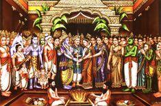 Teaching Nadi jyotish (Astrology) to Markandeya Rishi Tanjore Painting, Krishna Painting, Krishna Art, Hanuman Images, Lakshmi Images, Pichwai Paintings, Indian Art Paintings, Shree Ram Images, Saraswati Goddess