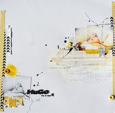 * Love the sketch. I like the multiple copies of the same picture layered. Marianne de 6 à la maison