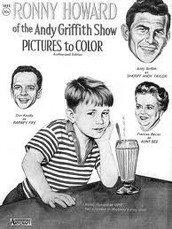 Andy Griffith Show Coloring book