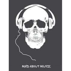 Affiche Mad about music