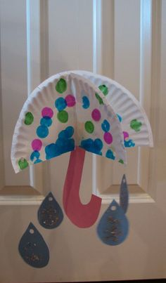 3-D Umbrella Craft / Ramblings of a Crazy Woman